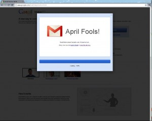 Google April Fool 2
