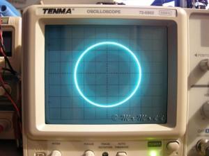 Circonferenza Oscilloscopio